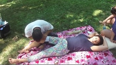 chinese  massage  milf  outdoor