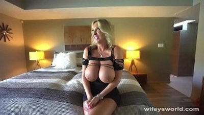 big boobs  blonde  blowjob  cumshots