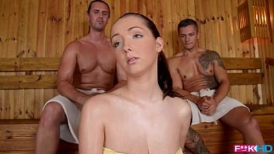 3some  big boobs  blowjob  european