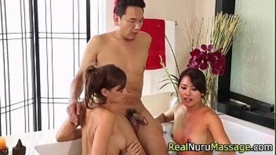 3some  asian  banged  blowjob