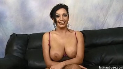 3some anal big boobs creampie