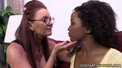 doggy  ebony  girl on girl  handjob