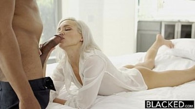 bbc  big cock  blonde  blowjob
