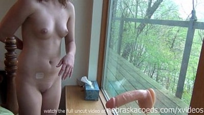 college  dildo  extreme  first time